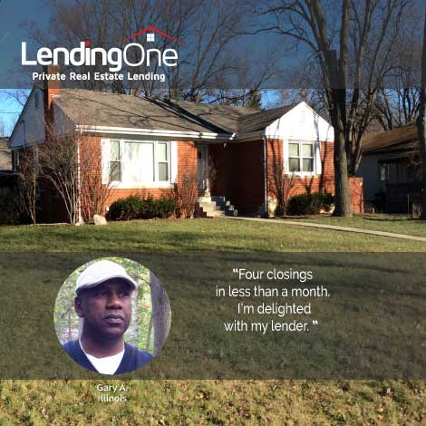 Learning Center Satisfied Fix n Flip real estate investor in Illinois